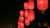 红色灯笼高清实拍视频素材