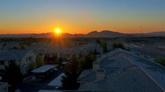 小乡村的日出美景 高清实拍视频素材