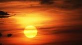 云层日出 高清实拍视频素材
