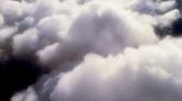 天空动态云 云层翻滚阳光光线照射带彩虹2一组高清实拍视频素材