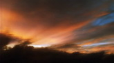天空动态云 云层翻滚阳光光线照射7 高清实拍视频素材