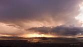 微速摄影 不曾看都到的云海 云层翻滚城市夜景高清实拍视频素材