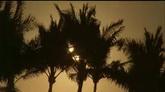 朝阳下的海岸高清实拍视频素材