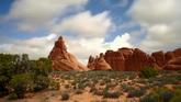 6個峽谷風光美景2高清實拍視頻素材