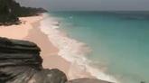 海灘自然風光美景高清實拍視頻素材