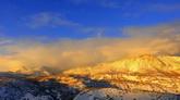 雪山風光美景2 高清實拍視頻素材