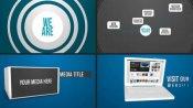 团队/公司的宣传ae模板Portfolio/Company Motion Promo