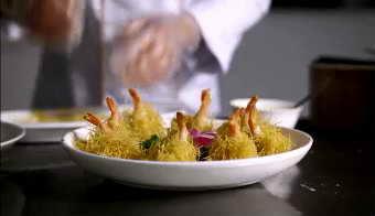 中国美食厨师培训烹饪教室教学镜头一组 高清实拍视频素材