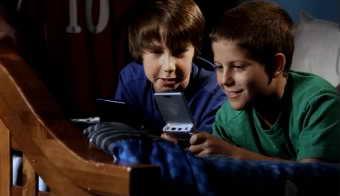 一组外国小朋友玩耍 高清实拍视频素材