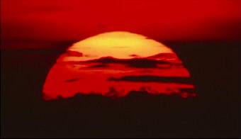 6組日落西山晚霞的美麗景色高清攝影 實拍視頻素材