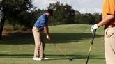 高尔夫球场 打高尔夫球高清实拍视频素材