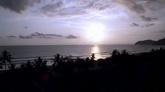 海岸线风光高清实拍视频素材