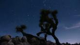 快速变化的风景 星空夜景高清实拍视频素材
