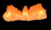 动态前景元素 火焰展示 高清动态视频素材