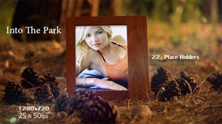 《美丽公园相册AE模板》Into The Park V1