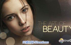 《唯美艺术写真AE模板 》 The Art of Beauty
