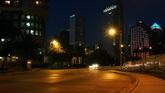 城市街道时间快速流逝高清实拍视频素材