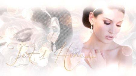 《美丽的新娘相册AE模板》Beautiful Bride