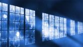 窗户玻璃爆破 高清殊效 静态视频素材