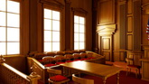 法院法庭高清动态背景视频素材