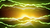 绚丽的光线波纹 高清动态视频素材