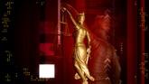 天平秤法律与秩序高清动态背景视频素材