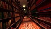 图书馆高清动态背景视频素材