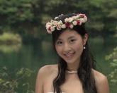 中国新式婚礼-自然风景区游玩标清实拍视频素材
