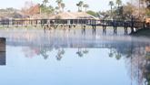 湖面倒影风景美景高清实拍视频素材