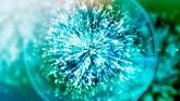 光线粒子喷发高清动态背景视频素材