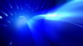蓝色光芒通道高清静态配景视频素材
