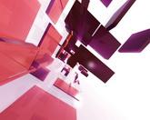 流动的方块标清动态背景视频素材