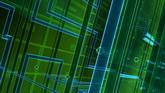 绿色光线流动高清动态背景视频素材