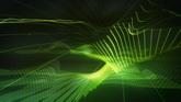 绿色网格光栅高清静态配景视频素材429