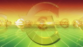 欧元高清动态背景视频素材