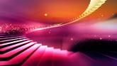 梦幻阶梯高清动态背景视频素材