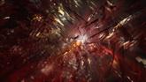 破碎的光線高清動態背景視頻素材