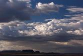 云层快速流动标清实拍视频素材