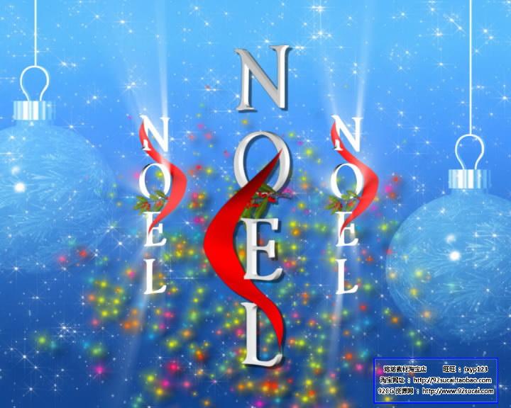 圣诞节日素材 圣诞配景 标清静态配景视频素材