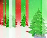 圣诞节日素材 圣诞节雪地圣诞树标清动态背景视频素材