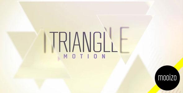 ?#24230;?#35282;炫光装饰动画AE模板》Triangle Motion