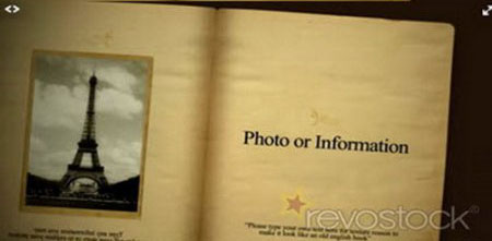 《书本图文相册展示AE模板》Book Photo Album 64501