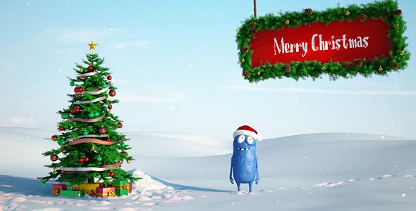 《圣诞鲍比2圣诞节日AE模板》Christmas Bobby 2
