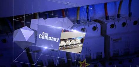 《商业促销的3D空间旋转芯片主板宣传AE模板》Business Promo