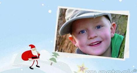 《圣诞老人行走相册展示AE模板》Santa Walk 796581 Revostock