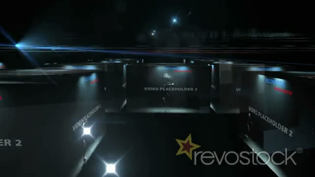 《立体盒子视频展示AE模板》Hyperium