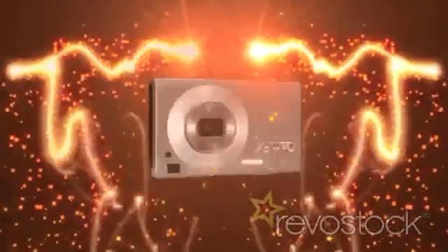 《极炫光线粒子相机图文展示AE模板》Rotating CamFx
