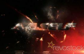 《震撼闪电光线字幕标题展示AE模板》The Anvil