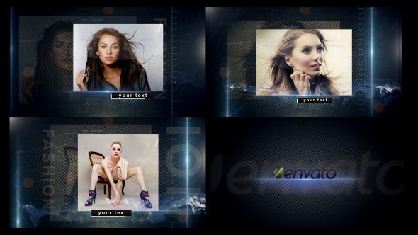 《大气写真图文展现AE模板》Fashion Promo