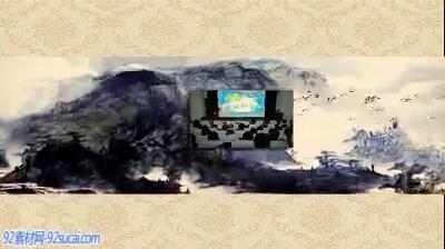 《中国风》会声会影模板公司企业广告电子相册宣传片头片尾素材
